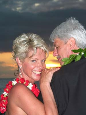 Couple Celebrating their Vow Renewal